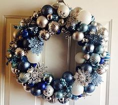 Diy bauble wreath diy crafts for moms crafty 2 the corediy how to make a frozen inspired ornament wreath solutioingenieria Images