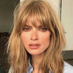 Frangia: lunga ed extralarge! La tendenza capelli top dell'autunno inverno 2017-2018!diventare