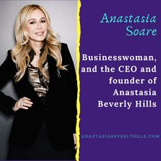 Most Powerful Mother Entrepreneurs 💪 Entrepreneur Stories, Anastasia Soare, Most Powerful, Anastasia Beverly Hills, Business Women, Life, Women In Business