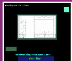 Woodshop Gun Rack Plans 081203 - Woodworking Plans and Projects!
