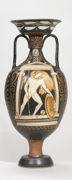an apulian red-figured amphora, at