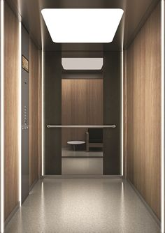 Lift without machine room for existing buildings Flex+ - OTIS Servizi Lift Design, Cabin Design, Shopping Mall Interior, Elevator Design, Feature Wall Design, Elevator Lobby, Lobby Interior, Lifted Cars, Lobby Design