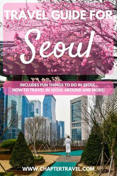 In this travel guide for Seoul, South Korea you can find the best hotels in Seoul, best places to eat in Seoul, how to travel around in Seoul and 7 fun things to do in Seoul. #Seoul #SouthKorea