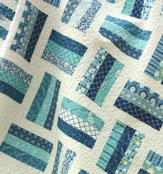 Seascapes Lap Quilt by CottonBerryQuilts on Etsy