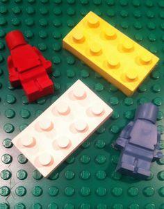 50 UPcycled Lego Minifigures Guys and Bricks by TheUPcycledCrayon