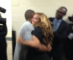 Bey and Jay after the Superbowl <3