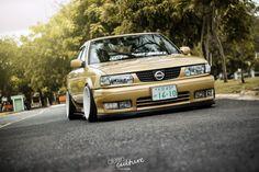 radracerblog: Nissan Sentra Sedan B13 @Sergiolouis B13 Nissan, Nissan Nismo, Nissan Sentra, Nissan Tuning, Stance Nation, Nissan Skyline, Jdm Cars, Car Audio, Subaru
