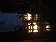 Luminária de fim de domingo.