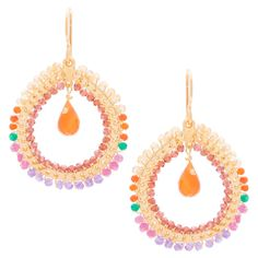 Win a pair of gorgeous Fabrix earrings from the Paradise jewellery collection by Kirsten Goss London worth R2440
