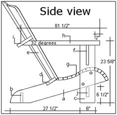 These free Adirondack chair plans will help you build a great looking chair in just a few hours, Build one yourself! Here are 18 adirondack chair diy Included Vivacious Chairs Shop a variety of rocking chair designs consisting of standard porch shaking ch Adirondack Rocking Chair, Rocking Chair Plans, Adirondack Chair Plans Free, Adirondack Furniture, Outdoor Furniture Plans, Woodworking Furniture Plans, Adirondack Chairs, Rustic Furniture, Playhouse Furniture