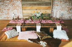 Rustic wedding table inspiration via @gws Follow us: @kwhbridal