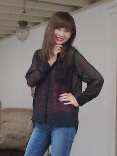 Asian Woman, Leather Jacket, Jeans, Womens Fashion, Jackets, Korea, Chinese, Japanese, Girls