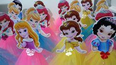 Enfeites de mesa princesa baby 20cm