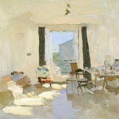 Studio, oil on canvas  Bato Dugarzhapov