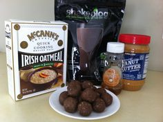 Healthy no-bake cookies! Shakeology Peanut Butter Balls: 1 scoop (or packet) Shakeology, 1 cup rolled oats, 1 cup peanut butter (or almond butter), 1/4 cup honey. Mix it all together. Take 1 TB and form into balls. Refrigerate or freeze and enjoy! 89 calories each and PACKED with vitamins and nutrients! Kids will have no idea they're eating their veggies :) Need Shakeology? www.shake4life.com