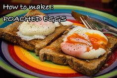 Breakfast variation - poached eggs - Another wonderful variation in the preparation of eggs is the poached version. Silky and delicious, these are one of the most favorites breakfast item. Though it can be intimidating at first, but o…