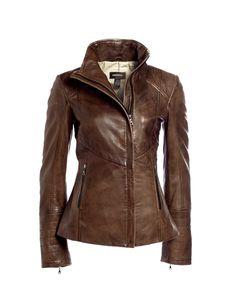 Danier leather jacket in Teak $249