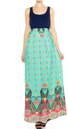 HerShe Sleeveless Maxi Dress