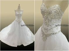 Hey, I found this really awesome Etsy listing at https://www.etsy.com/listing/233236089/sw9-cathedral-train-wedding-dress-with