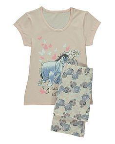 Disney Winnie The Pooh Eeyore and Piglet Pyjama Set