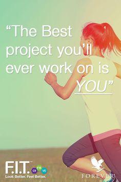 Start today! #IAmForeverFIT #Fitness #ForeverLiving #Aloevera #F15 #Motivation #Inspiration #Quote