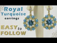 Handmade jewelry earrings Isabella - YouTube