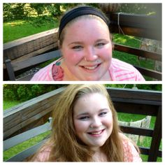 Before/After of Jane Iredale makeup.  Makeup done by Shelly Waldinger.