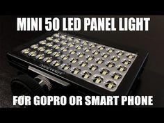 Mini LED Video Light for GoPro or Smart Phones