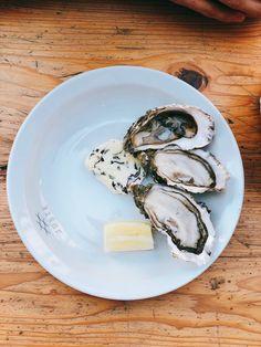 Fresh oysters Fresh Oysters, Camembert Cheese, Tableware, Food, Dinnerware, Tablewares, Essen, Meals, Dishes