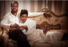 Stephanie Okereke and hubby Linus Idahosa look like royalty for ThisDay Style shoot.The couple who have been married sinc. Celebrity Gossip, Celebrity Photos, Celebrity News, African Fashion Dresses, African Dress, Stephanie Okereke, Just Style, Rich Man, Latest Music