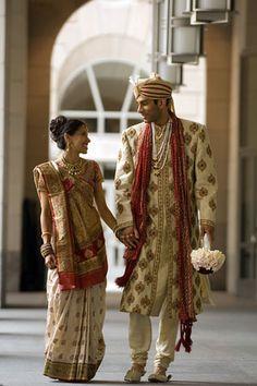 Bride and groom in Washington DC