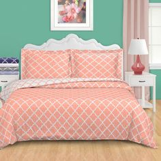 Found it at Wayfair - Lola Duvet Cover Set. Size-full/queen. Color-grey