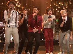 One Direction on #SNL.