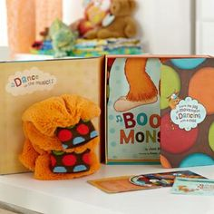 Multiple Award Winner BOOGIE MONSTER DANCE KIT by Josie Bisset [2 to 5 Day FREE Delivery]  #ChildsGift #ChildrensGift #ChildrensDanceMusic #ChildrensStory #DanceMusic #child #ChildrensMusic #dance #book #ChildrensBook $39.95