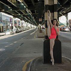 Projeto contrasta sutileza das bailarinas com atmosfera urbana | Quem Inova