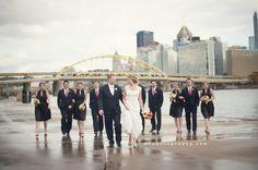 We love Pittsburgh wedding shots #Pittsburgh