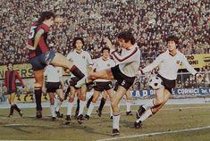BOLOGNA-GENOA 2-1 1977-78 tredicesima giornata al 26' STEFANO GARUTI segna il gol del momentaneo 1-0