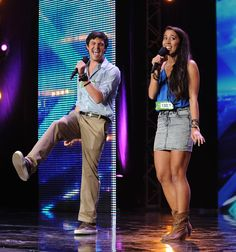 X Factor USA: Alex and Sierra are an instant favourite with their cover of Toxic and....................................THEY WON WOOOHOOOO