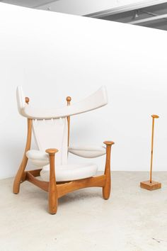 Limited Edition Chifruda Armchair by Sergio Rodrigues 5