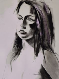 Carly No. 1 18 X 24 Charcoal, Pastel and Digital Art Artist Painting Oil paintings Acrylic paintings Abstract paintings Figure drawing Life drawing Portrait Portraiture Oil Acrylic Figurative Women Female Fashion Erotic Beauty Spirit Model Captivate Mystic Light Shadow Love Beauty Glamour Figure Spiritual Mime Mother Princess Magic Mystery Moody Haunting Vulnerable Honest Eyes Trance Mesmerize Pensive Caricature