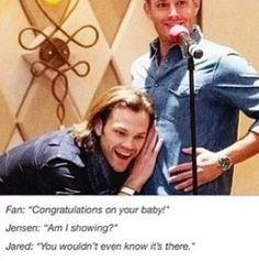 #Supernatural #spnfamily Jared Padalecki Jensen Ackles