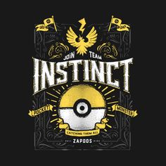 AN INSTINCTUAL DECISION T-Shirt - Pokemon GO T-Shirt is $11 today at TeeFury!