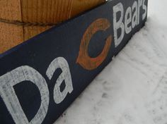 Chcago Bears Da Bears Man Cave SIgn by SignUpNow on Etsy