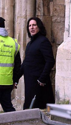 Alan Rickman Photo: Alan Rickman-Snape
