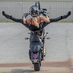 Girls bikers