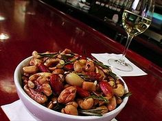 Giada De Laurenttis: Bar Nuts : Giada De Laurenttis goes nuts for these bar nuts.