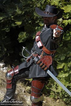 Musketeer leather armor set