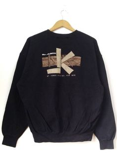 f8761c3e6ccc Japanese Brand Vintage 90's Mr Junko by Junko Koshino Spell Out Embroidery  Sweatshirt Pullover Jumper Size