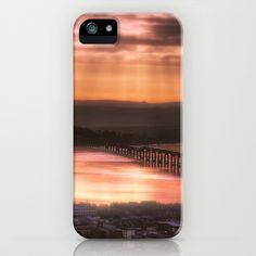 Dundee Railway Bridge iPhone Case by Fiona & Paul Photography and Digital Art - $35.00