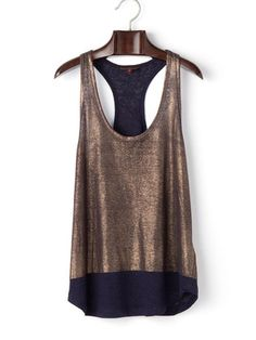 7 for all mankind - Shiny by color long length tank top